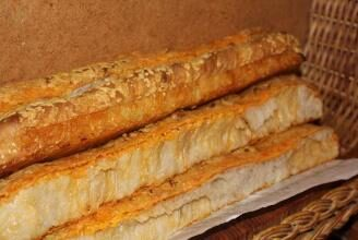 ciabatta cheese sticks